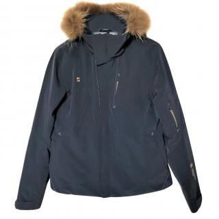 Mountain Force ski jacket with fur trimmed hood