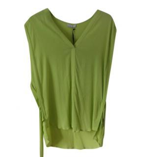 Riani Lime Green Sleveless Blouse