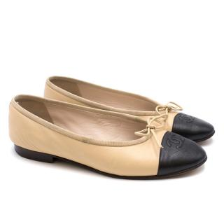 Chanel Two-tone Ballet Flats