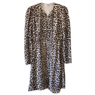 Carven leopard print dress