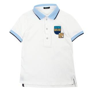 Choupette Boy�s White Polo Shirt