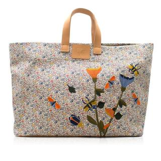 Laurence Dacade Floral Embroidered Tote Bag