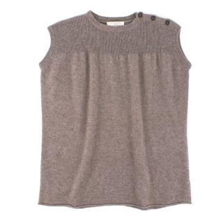 Caramel Baby & Child Cashmere & Wool-blend Sleeveless Knit