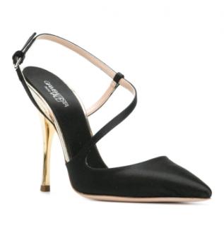 Giambattista Valli Satin Strappy Sandals