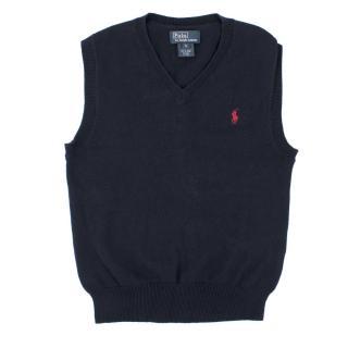 Ralph Lauren Boy's Navy Vest