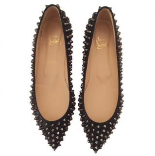 Christian Louboutin Follies Spiked Flats