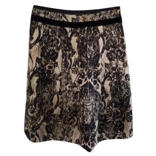 Max Mara Weekend printed skirt
