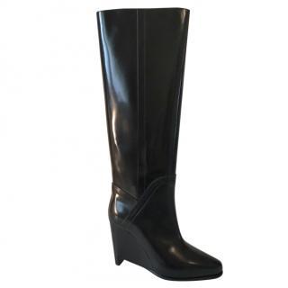 Maison Margiela knee high wedge Boots