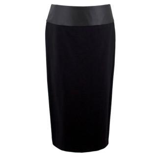 Maje Black Pencil Skirt