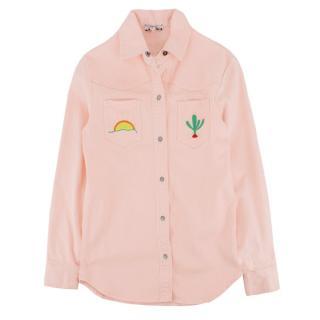 Stella McCartney Kid's Peach Denim Jacket