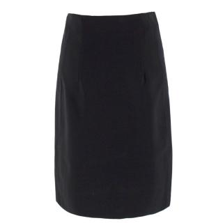Theory Black Pencil Skirt