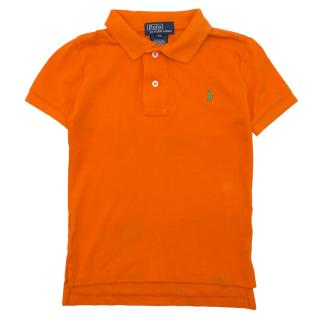 Polo Ralph Lauren Orange Polo Shirt