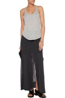 Soyer Black Maxi Skirt with Slits