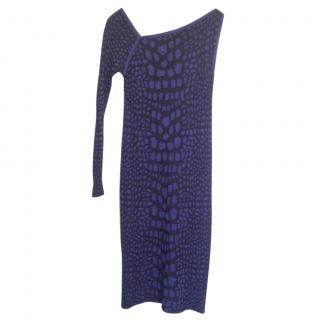 M Missoni one shoulder bodycon midi dress