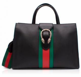 Gucci Dionysus Web-Stripe Top-Handle Bag