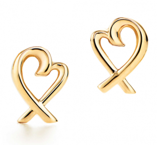 Tiffany Paloma Picasso 18ct Loving Heart Earrings