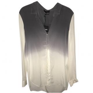 The Kooples Sport Silk tie-dye boyfriend shirt