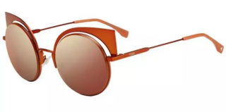 Fendi FF 0177/S Orange Eyeshine Sunglasses