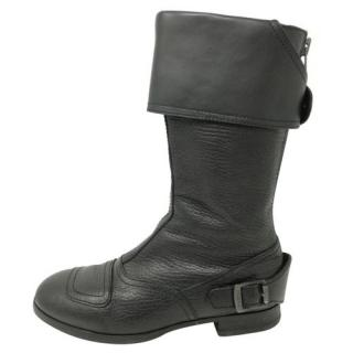 Hogan Brown Leather Boots