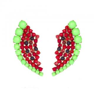 Bijoux de Famille Watermelon Earrings