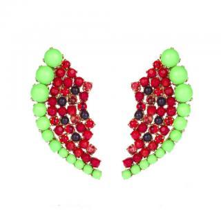 Bijoux de Famille Watermelon Earrings