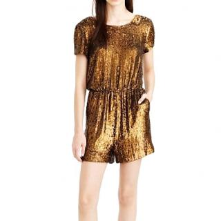 J.Crew Collection sequined romper