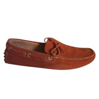 Car Shoe Men's Rust Loafers