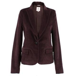 MiH Burgundy Corduroy Jacket