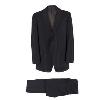 Gieves & Hawkes Wool Pin Stripe Suit