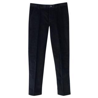 Harrods Boy's Black Corduroy Trousers