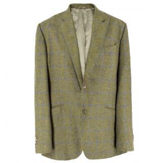 Rhodes Wood Green Tweed Blazer
