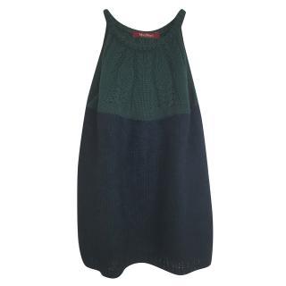 Max Mara knit wool blend top