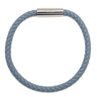 Hermes Intrecciato Blue Goliath Bracelet