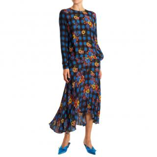 Preen Line Printed Midi Dress