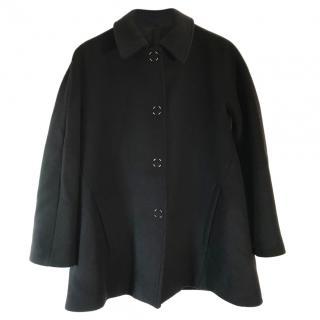 Acne Acel black wool Swing coat