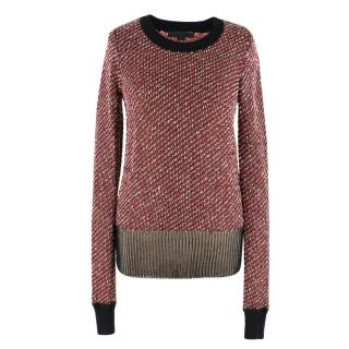 Alexander Wang Wool-blend Chain Detail Jumper