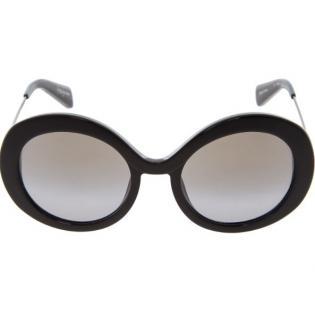 Yohji Yamamoto Iconic Black Round Sunglasses