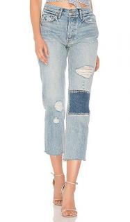 GRLFRND Denim cropped jeans