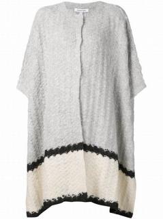 Elizabeth & James Alpaca Blend  Oversized knitted cape