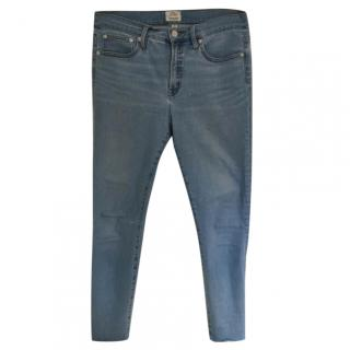 J Crew High-Rise Toothpick Jeans