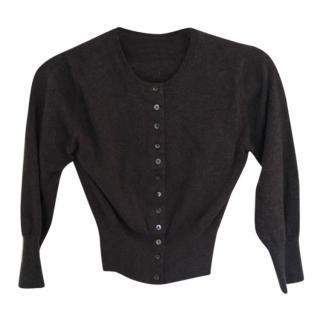 Brora Cashmere Cropped Cardigan