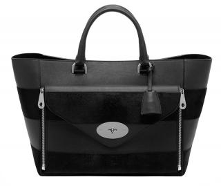 Mulberry Leather & Calfhair Willow Large Tote