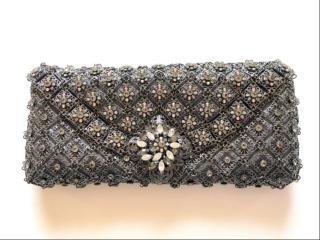 Kenny Ma Swarosvki embellished clutch
