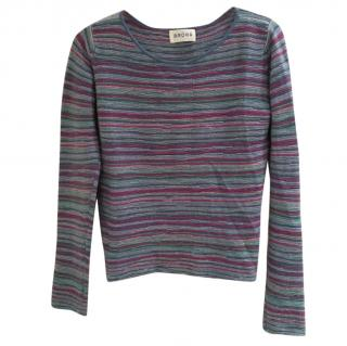 Brora Multicoloured Cashmere Jumper