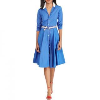 Polo Ralph Lauren Blue Shirt Dress