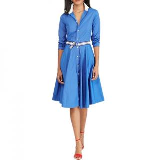 Polo Ralph Lauren Blue Shirt Dress