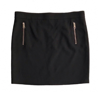 Gucci Black Mini Skirt