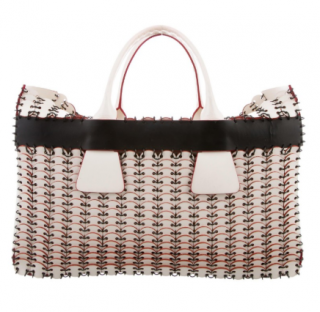 Paco Rabanne chain-mail 14#01 Cabas tote bag
