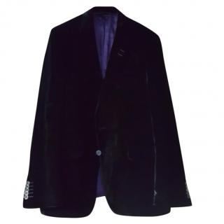 Paul Smith mainline black velvet blazer