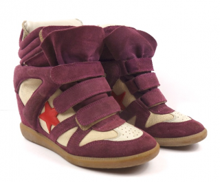 Isabel Marant Bekett Wedge Trainers